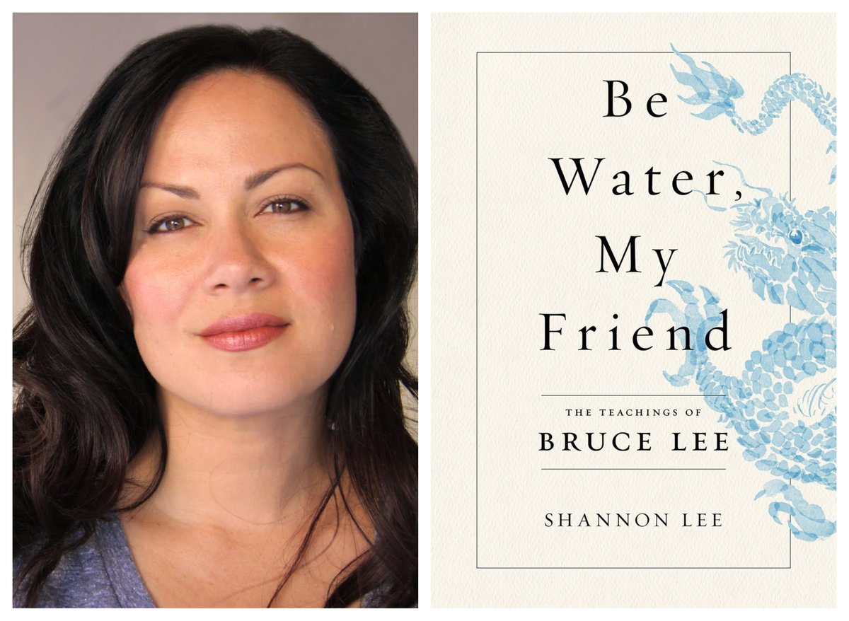 This Friday at 12pm CT, Shannon Lee will discuss BE WATER, MY FRIEND: THE TEACHINGS OF BRUCE LEE (@Flatironbooks) in conversation with Nancy Wang Yuen. Register here: chicagohumanities.org/events/shannon… Presented in partnership with @chihumanities