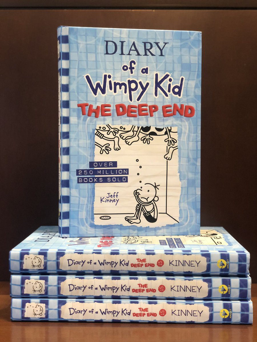 Have you got your copy of Diary of a Wimpy Kid The Deep End? You won't want to miss out on this one!  #barnesandnoble #bnsouthtown #diaryofawimpykid #newrelease https://t.co/MqQHOQ8VPc