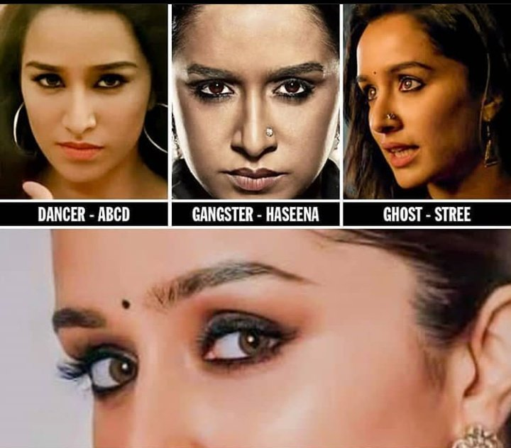 Dancer - ABCD Gangster - Haseena Ghost - Stree And Now -Nagin ... Yeeeee......🥳 @ShraddhaKapoor ❤️  looking forward to seeing this one ...biggggg congratulations .  #Nagin Produced by @Nikhil_Dwivedi & directed by #VishalFuria  #Nagin #ShraddhaKapoor