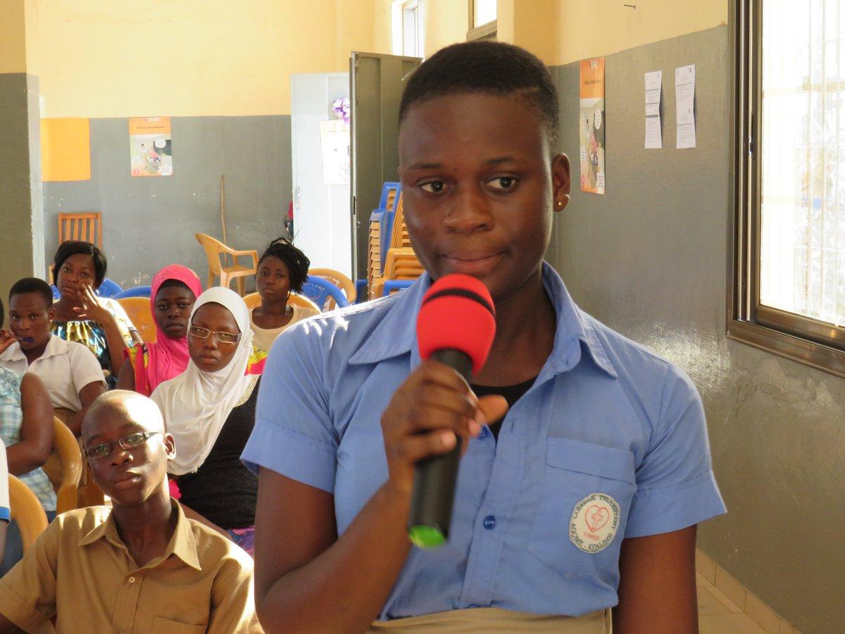 #JIF2020 Les filles veulent rester à l'école. Elles ont droit à une éducation de qualité à tous les niveaux. @UNFPAGHANA @unfpa_benin @UNFPABF @unfpa_guinee @UNFPALiberia  #AfricaGenEquality  #beijing25 https://t.co/cC2JZX2BkG