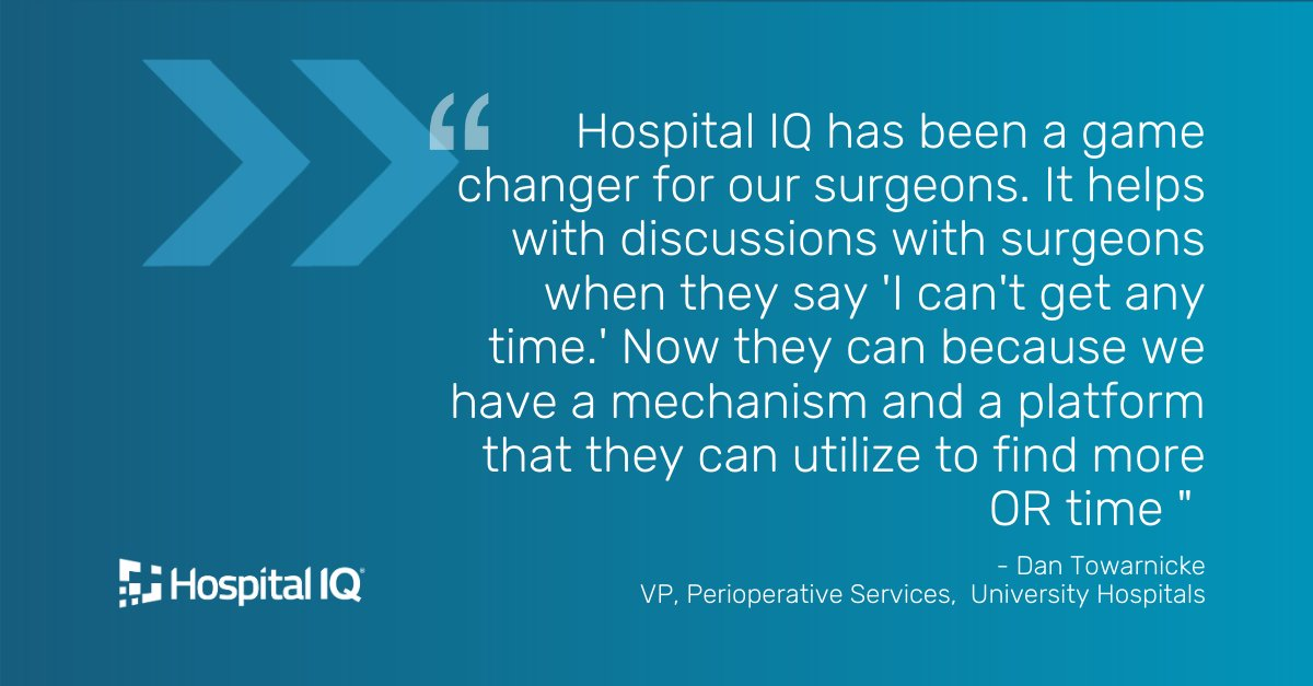 Learn how Hospital IQ's virtual marketplace can create visibility into available #OR time for your organization - improving both OR utilization and #surgeon engagement. Register for our upcoming #webinar today: https://t.co/vXEgvgSZak https://t.co/8O6upvCcvr
