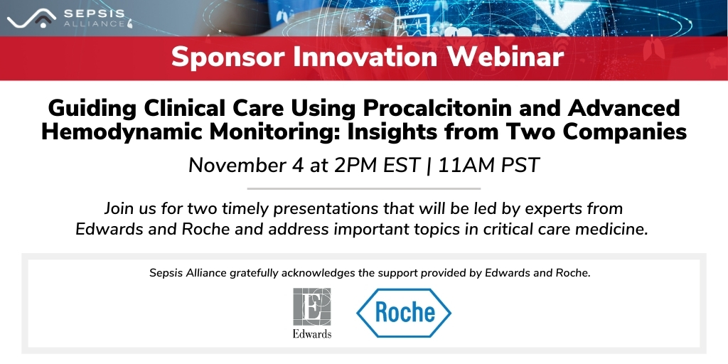 Next week, we're hosting a dual-focused free #webinar with @EdwardsLifesci & @Roche. Edwards will kick off the discussion by exploring advanced hemodynamic monitoring & Roche will then lead an examination of procalcitonin in clinical practice. Register: https://t.co/HhahLjhKN1 https://t.co/Pc4aBzRxfd