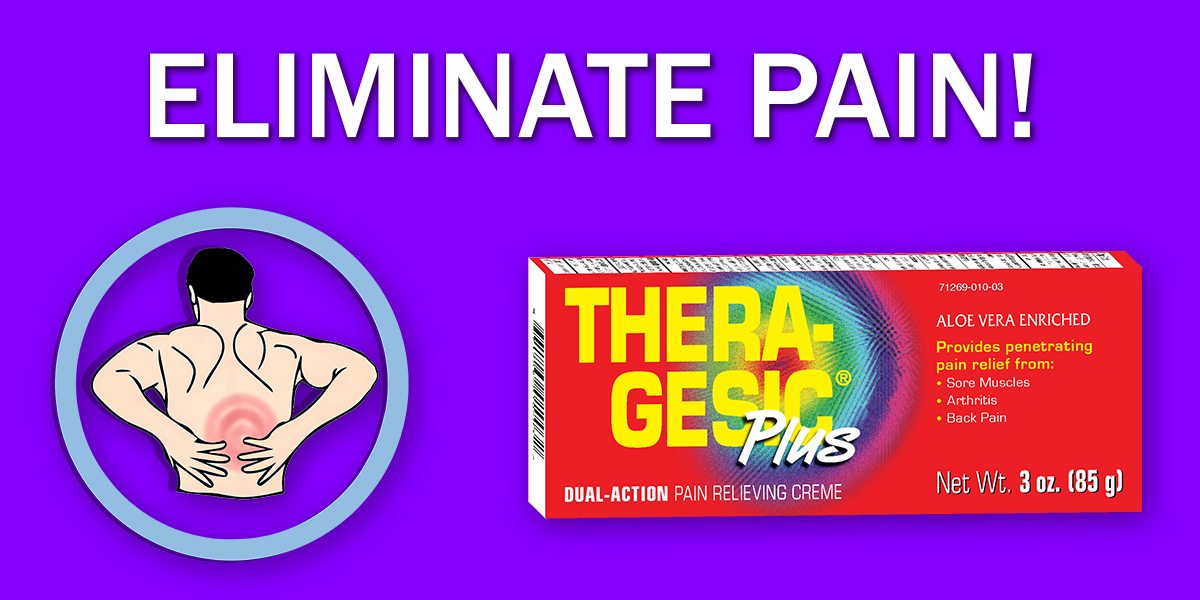 Eliminate pain with Thera-Gesic Plus. Your Secret weapon for recovery.  #Pain #painmanagement #therapy #rehabilitation #rehab #excersise #sports #MLB #NFL #NBA #NHL #MLS https://t.co/N8ZwLV4dbv