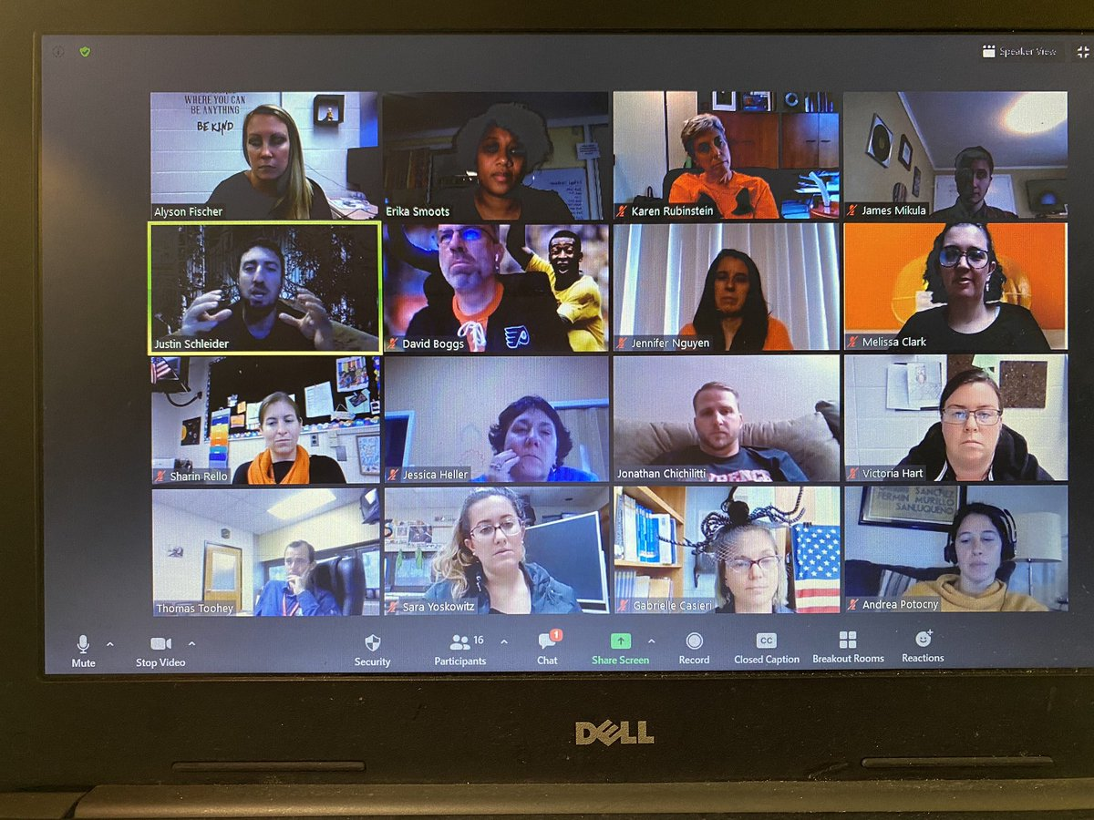 Another Social Justice presentation done!!! Great ideas and lots of enthusiasm from LIS Specialists. They're rockstars! @JayBilly2 @msafischer @mhayes611 @SchleiderJustin https://t.co/errqXdzp9k