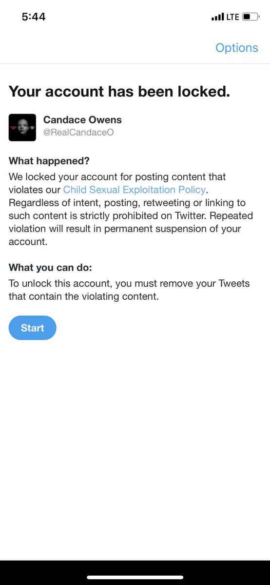 "Twitter LOCKED my account until I removed the screenshot of Hunter Biden's text convo with his mother about sexual allegations with a minor. The REAL texts violate their ""child sexual exploitation"" policy. @JoeBiden you & Hunter are guilty as sin & @jack can't cover that up!"
