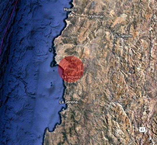 M5.8 #earthquake!  Depth: 43.8 km Wed Oct 28 11:53:10 GMT-03:00 2020  Near 63 km N of La Serena, #Chile  https://t.co/VUL6wO5Rdg https://t.co/Wg9bpPnyl1