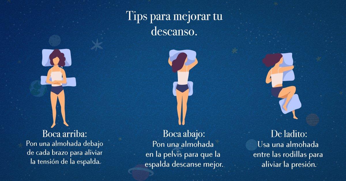 !El colchón de tus sueños y tu almohada, son la mejor pareja para un descanso saludable! Solo toma nota de estos tips. #RESTONIC #Dormir #Descanso #Tips https://t.co/xpQ1aKvGfx
