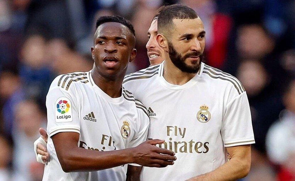 """""""No se la pasen [a Vinicius]"""", pide Karim Benzema: El Real Madrid está roto, al menos el ataque, y fue captado por cámaras. https://t.co/zOqtberDtZ (vía ElUniversal) https://t.co/azK5zmGvDY"""