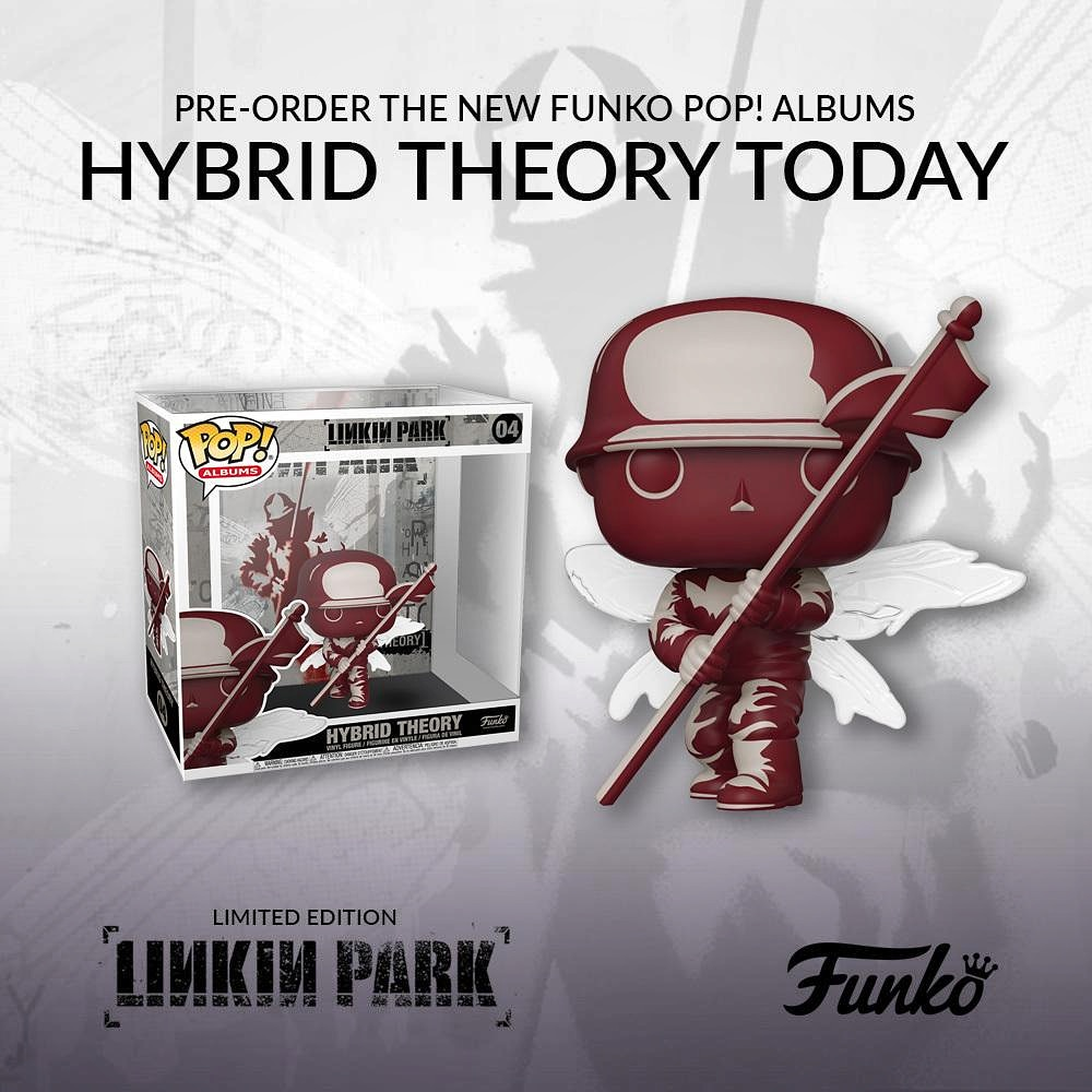 I just pre-ordered the Hybrid Theory Street Soldier Funko POP! 😍 #LinkinPark #HybridTheory #HybridTheory20 #HT20 #FunkoPOP https://t.co/EYw8R0EpS9 https://t.co/YYzydnyUvF