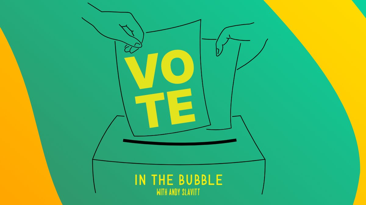 Did you #VOTE? Great! But there's one last ballot you forgot to cast.  #InTheBubble with @ASlavitt is up for Best New Podcast of 2020 at the @Discover_Pods Awards! No registration required. Vote for Andy now: https://t.co/d2DCx16DHn https://t.co/I40jdjH7Nq