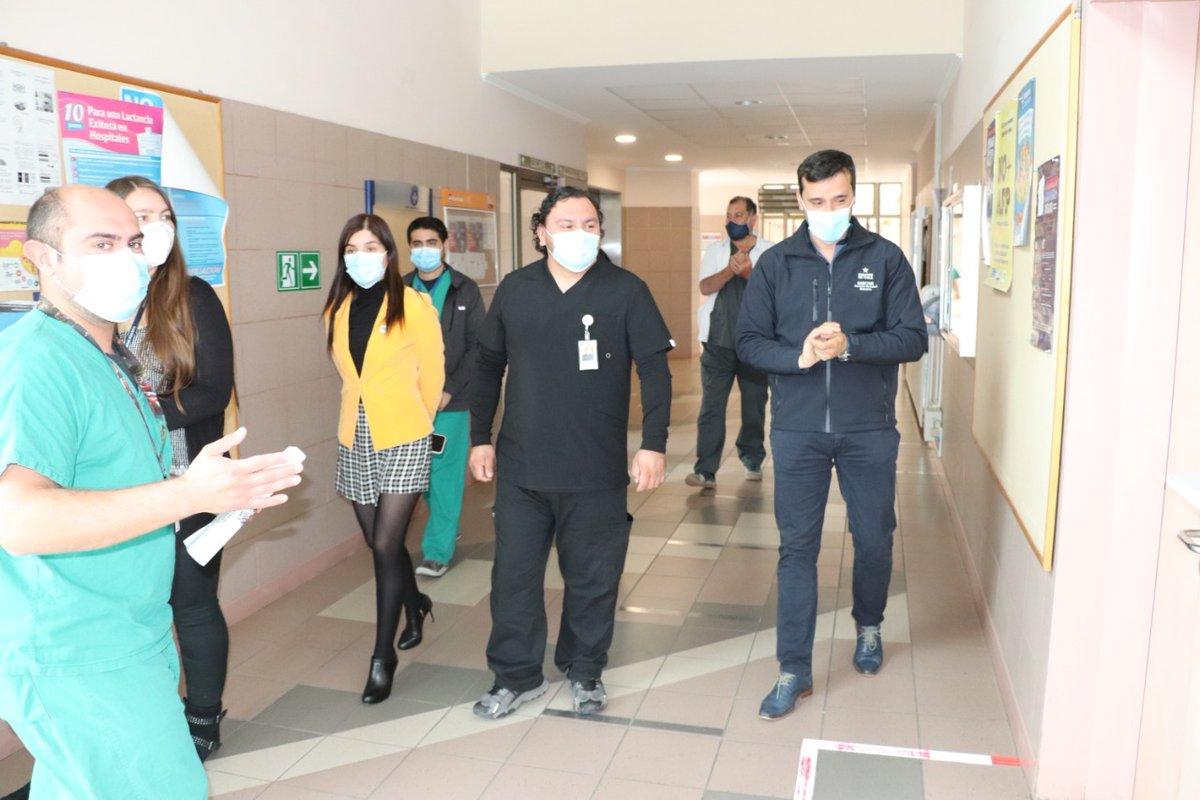 Servicio de Salud y Hospital Provincial del #Huasco realizaron recorrido verificando medidas de prevención Covid 19 en plan Paso a Paso Laboral  https://t.co/OAw7eM4GBB https://t.co/fflp5TI212