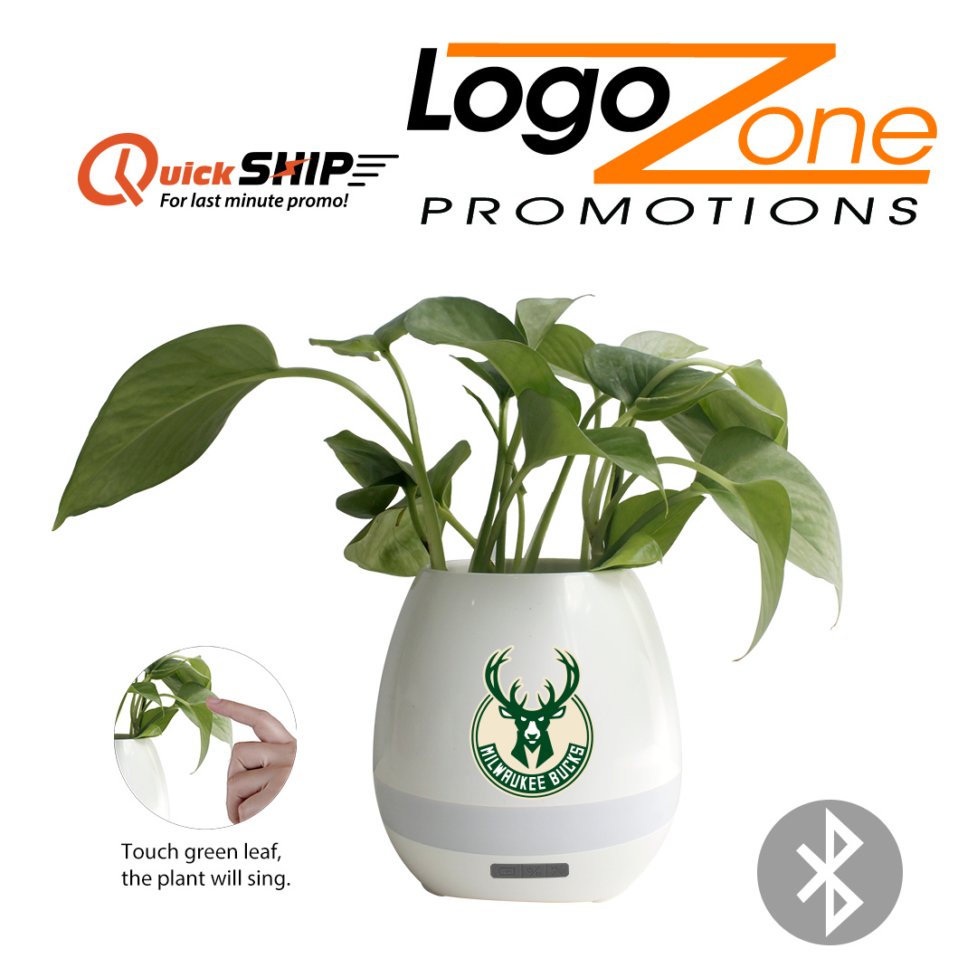 Wow! A Bluetooth speaker in a flowerpot! Have your company or special event logo added for a memorable gift. https://t.co/a9BWlb92mm  We Have What Your Business Needs  #logozonepromotions #lzp #yourlogohere #customprinting #screenprinting #promotionalproducts #tmwtp https://t.co/Qi2SgWGylR
