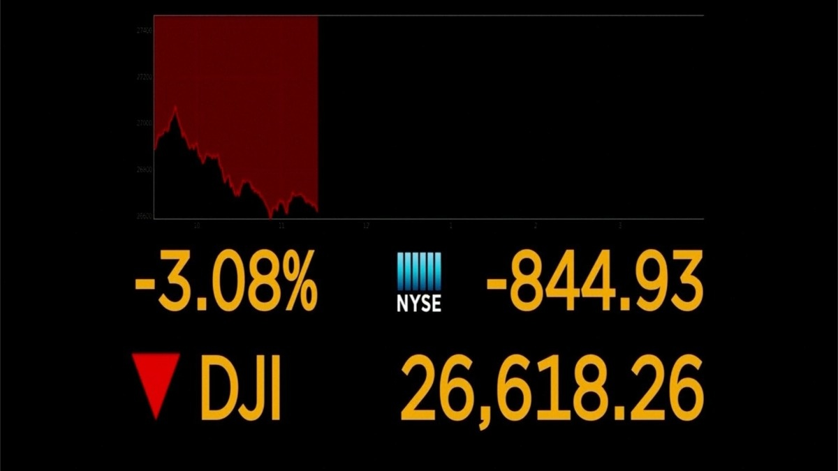 Wall Street drops on virus fears https://t.co/0BXQTyeduk https://t.co/OZJxpqTSMx