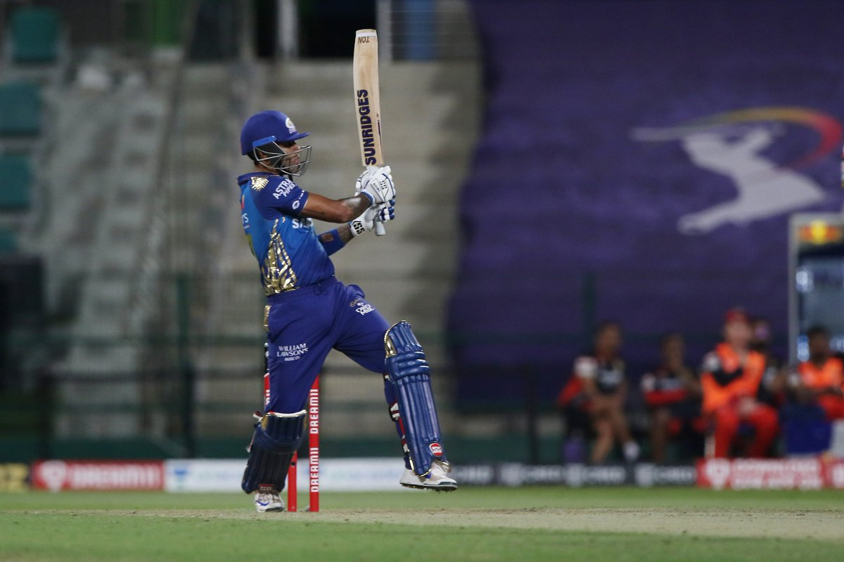 Bandey mein hai Dum. Jaldi number aayega no doubt. 3 blockbuster seasons in a row.   Brilliant innings from Suryakumar Yadav and a wonderful win for Mumbai. #MIvsRCB