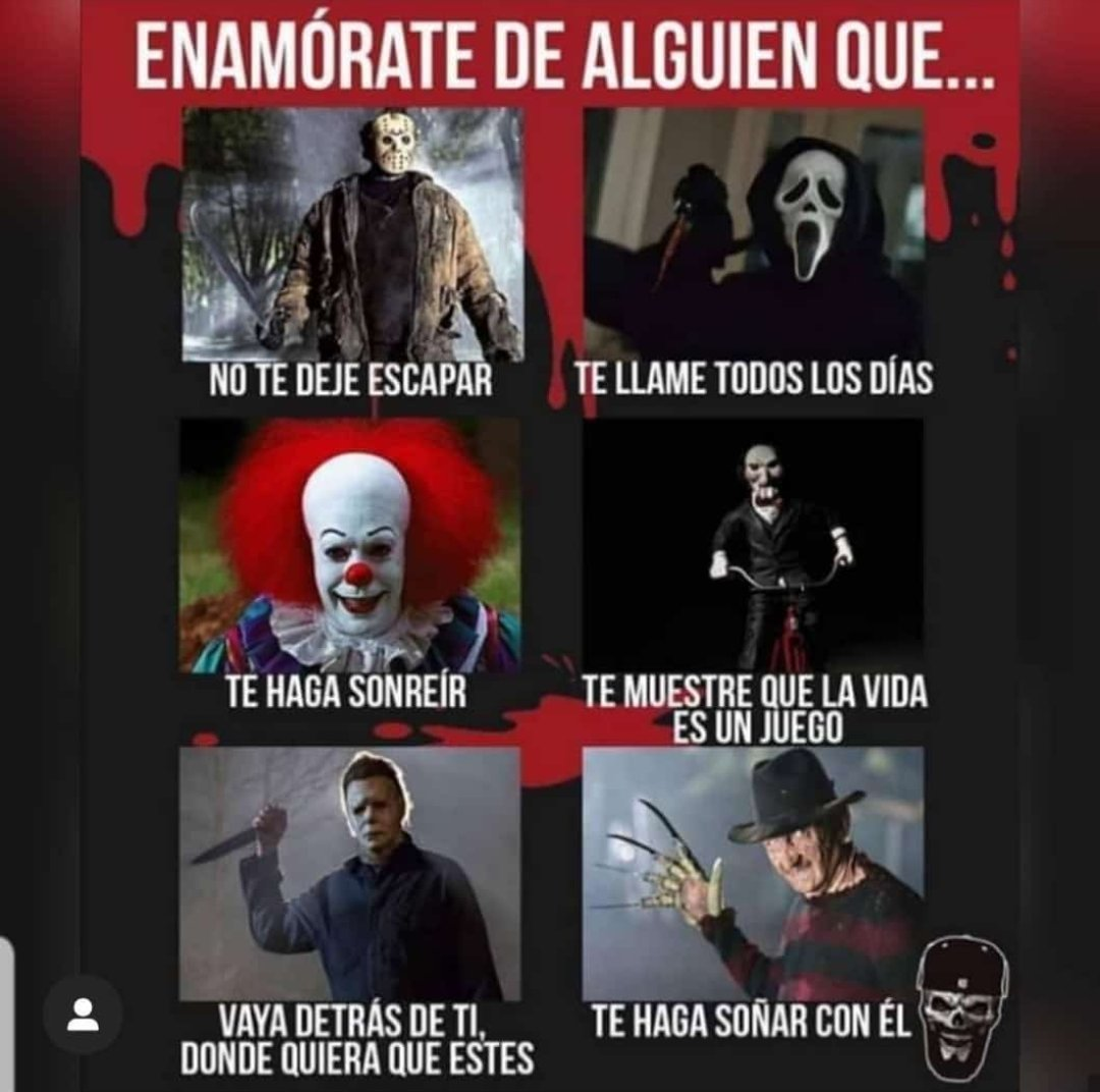 Dónde está mi asesino serial jajaja #humor #amor #love #Halloween #gay #gayboy #cali #CaliCo https://t.co/AdpNlpUp3I