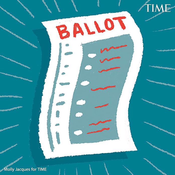 Q: If I opted to get a mail ballot, can I vote in-person instead?  A: Yes—anytime, on or before Election Day. Remember to bring your mail or absentee ballot because that gives election officials an opportunity to verify that you haven't voted already https://t.co/tKnabDmvcy https://t.co/D3EouhzGap