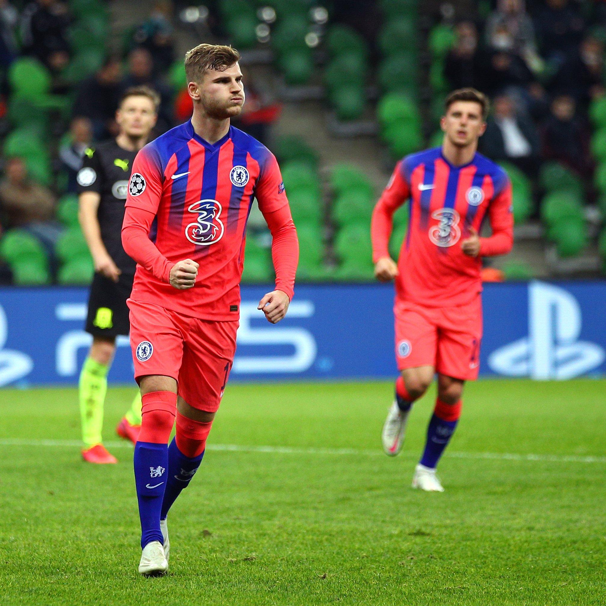 Chelsea golea a Krasnodar como visitante y lidera el grupo E de la Champions League