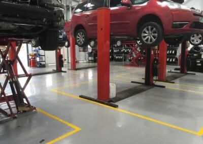 We provide high quality #VehicleWorkshopFlooring. Features include: Demarcation lines to meet #VOSA standards Dust free Fast to install High gloss  Read more... https://t.co/rdN6IFP0c1  #AutomotiveIndustry #AMLive #Dealers #F1 #BodyShop #Garages #Toolfair #LCCS2020 #SMMT #MOTbays https://t.co/IiN0z7kmt1
