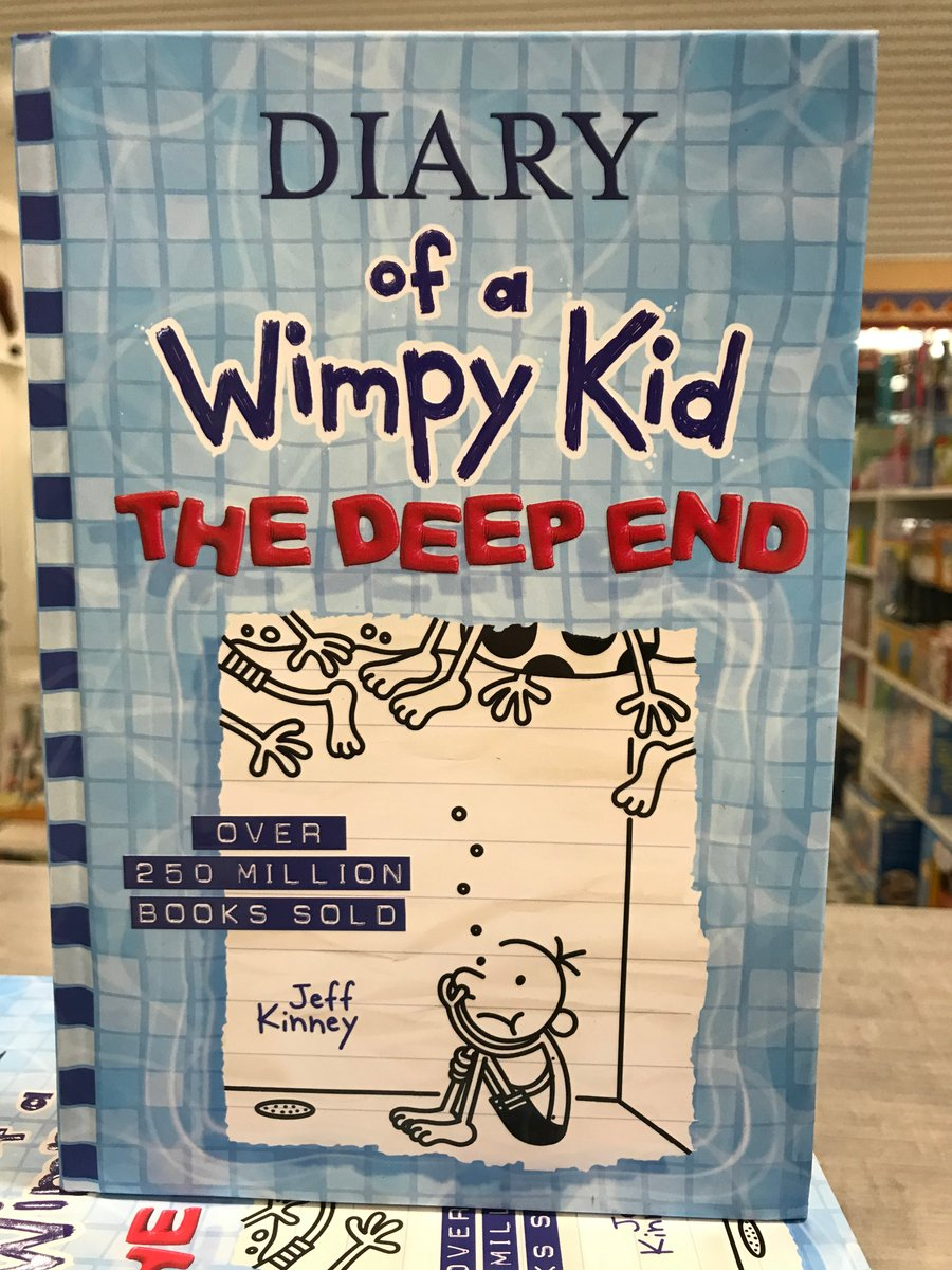 LOOK WHAT IS HERE!!  The newest Diary of a Wimpy Kid - The Deep End is available at all Grandrabbit's locations!   #grandrabbits #diaryofawimpykid #thedeepend #villageboulder #orchardtowncenter #broomfield https://t.co/7aQyBR0ii1