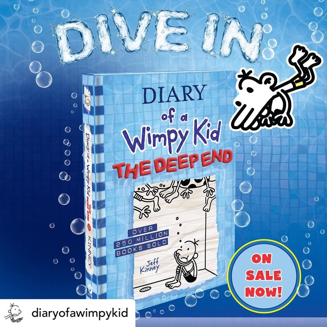 It's time to Dive back in to Diary of the Wimpy Kid!! #diaryofawimpykid #bnreads #bntowncenterjax #kids #kidreads  #funread https://t.co/BgLOmUKeTW