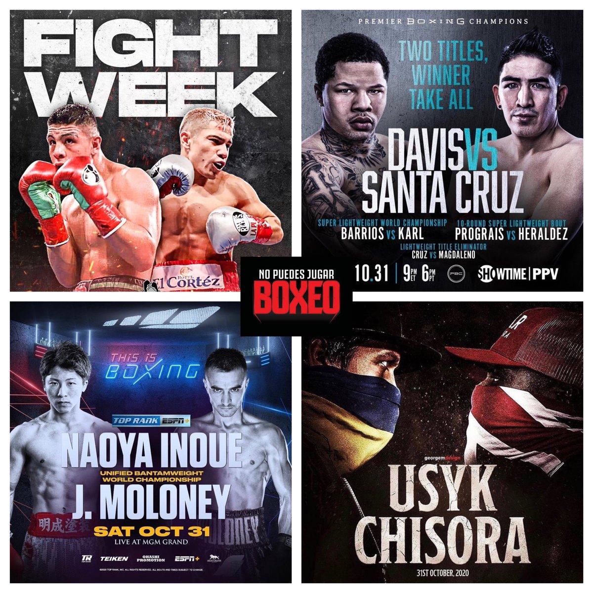 ‼️Enumera del 1 al 4 ¿Cuál crees que será la mejor pelea del fin de semana? ‼️🔥🥊 #nopuedesjugarboxeo #npjb #box #boxeo #boxing #boxeoprofesional #losangeles #california #dazn #toprank  #toprankboxing #pbcboxing #goldenboypromotions #munguiajohnson #davissantacruz #inouemoloney https://t.co/EJtPfG1Gxy