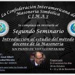 Image for the Tweet beginning: La Confederación Interamericana de Masonería