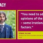 Image for the Tweet beginning: Watch #Innocracy20:   .@VillaniCedric argues that