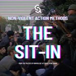 Image for the Tweet beginning: We shouldn't confuse non-violent action