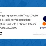 Image for the Tweet beginning: tZERO has signed an agreement
