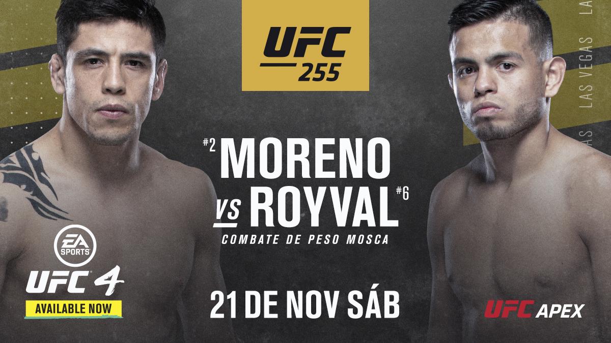 Van a salir chispas en esta pelea entre @theassassinbaby y @brandonroyval en #UFC255 definiendo muy posiblemente al siguiente retador 👊 https://t.co/yfLSJWv3lw