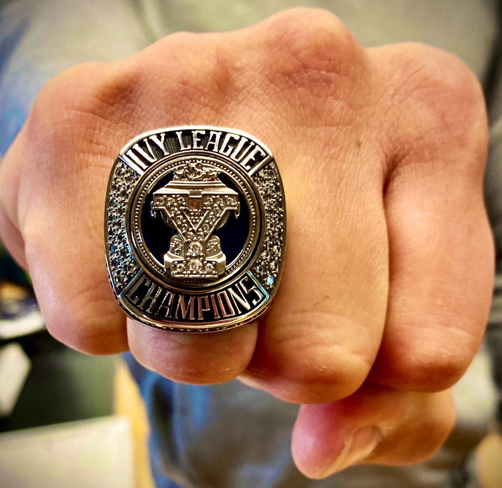 """""""What does perfection look like to me? Championship rings!"""" - Kobe Bryant - #Team147RingCeremony #ThisIsYale   #2019IvyLeagueChamps"""