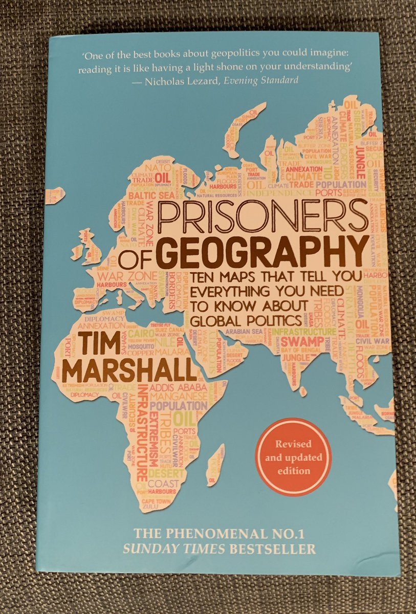 @eandtbooks @Itwitius Just received Prisoners of Geography by @Itwitius for my nephew's birthday. He's studying geography at A level and this looks right up his street. My son's just seen it and wants a copy!!