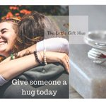 Image for the Tweet beginning: Our sterling silver hug rings