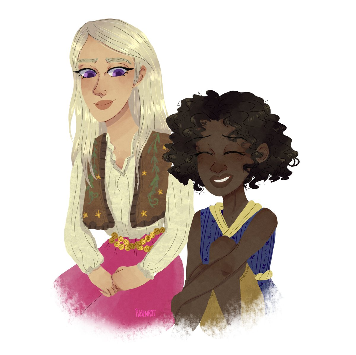 requests #asoiaf #fanart #DaenerysTargaryen #missandei #JonSnow #books #digitalart #GameOfThrones https://t.co/bVjH8lmtIP