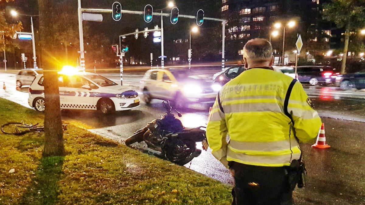 Politie doet onderzoek na ongeval -..