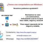 Image for the Tweet beginning: ¿Tienes una computadora con Windows