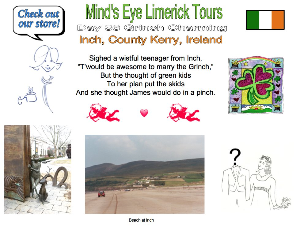 #Limerick #entertainment #humor #store #Inch #Kerry #Grinch #teenager #marriage #fun #Dingle https://t.co/ebyHBWBJwQ https://t.co/u1rSJpfJB8 https://t.co/fBdJejRzAQ