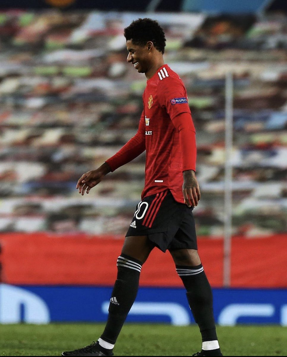 RT @TheUtdReview: Rashford vs Leipzig:  27 minutes played 19 touches 4 duels won 3/4 take-ons completed 3 goals https://t.co/42erOxk7Vr
