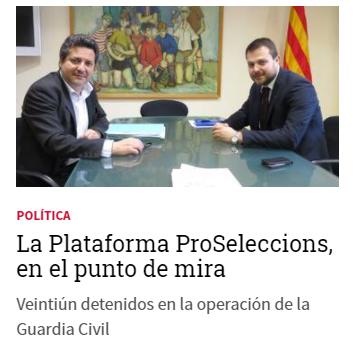 La Generalitat, una cleptocracia independentista. No hay un chiringuito limpio, nos roban por todas partes. https://t.co/BzT3tq2MpA