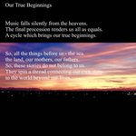 Image for the Tweet beginning: 「Our True Biginnings」  #画家 #現代アート #アクリル画