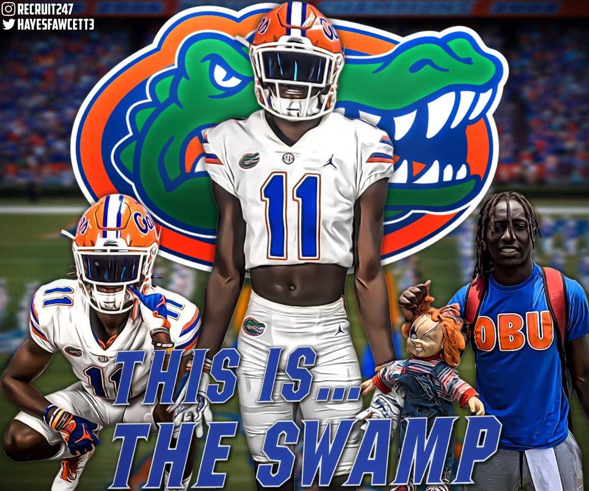 BREAKING: 5 🌟 ATH Sam McCall has just Committed to Florida!  The Top 30 Player in the Class of 2022 chose the Gators over Alabama, Oklahoma, and Florida State  He joins 4 star WR Zyveion Ellis in Florida's 2022 Recruiting Class 🐊