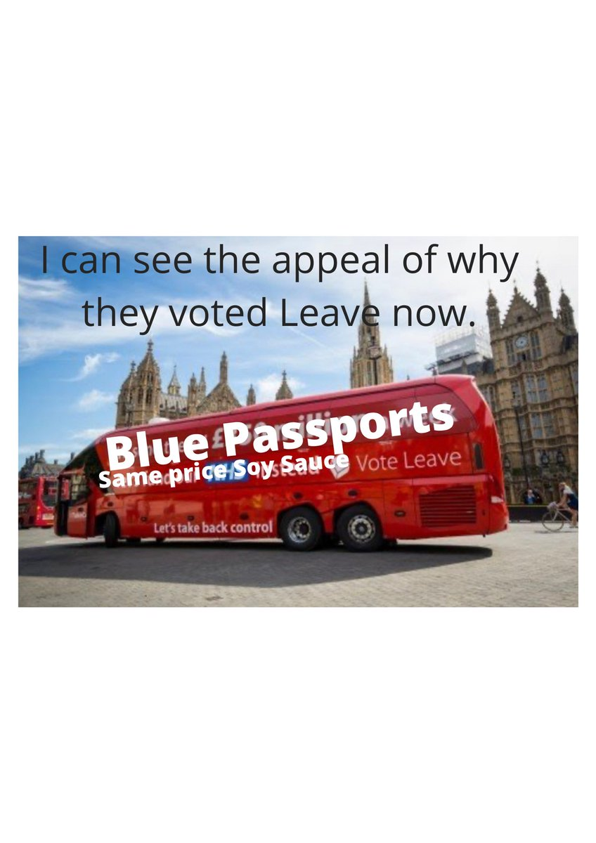 Created my first meme today.  #brexitmemes #brexitshambles #brexitmemesbrexit #stopbrexit #fuckbrexit #bollockstobrexit #tory #tories #fuckthetories #toriesout #soysauce #bluepassport @BorisJohnson_MP @mikegove12 https://t.co/bO1VG4vVQz