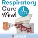 Image for the Tweet beginning: It's #RespiratoryCareWeek! Check out Lazarus