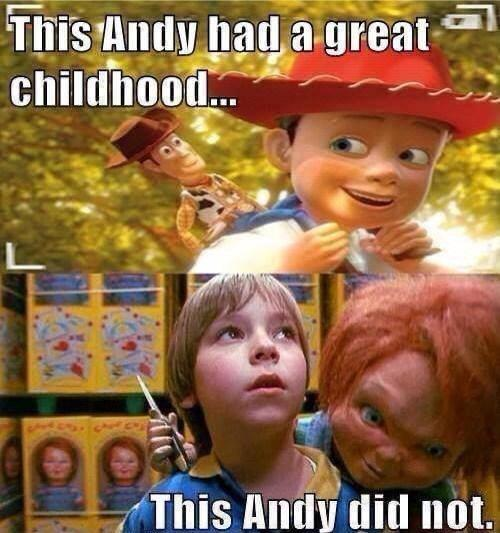 Hanging out with a murderous doll isn't so bad right...? #Chucky #ToyStory #Andy https://t.co/TGNRQ8smlZ