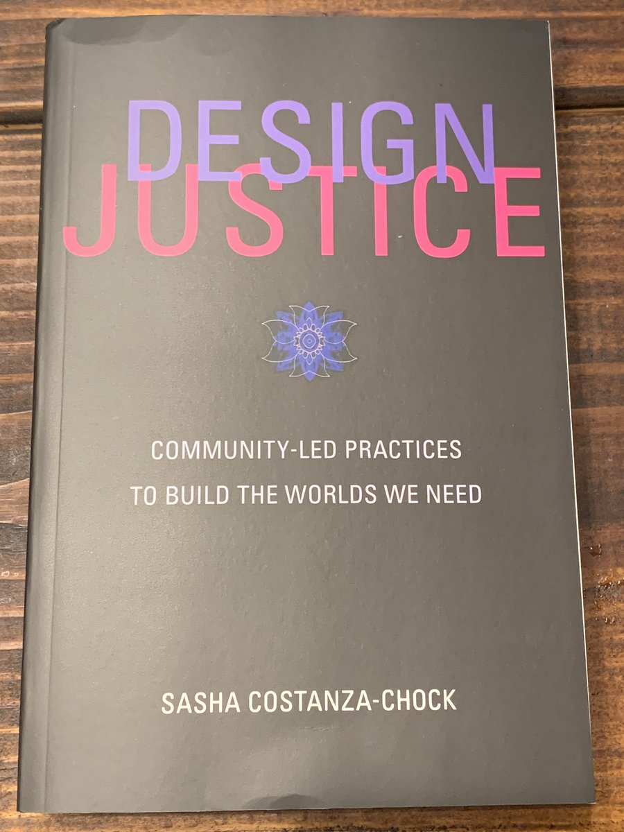 On the topic of (PAR) Participatory Action Research- @Justice_xDesign led me to this book by @schock