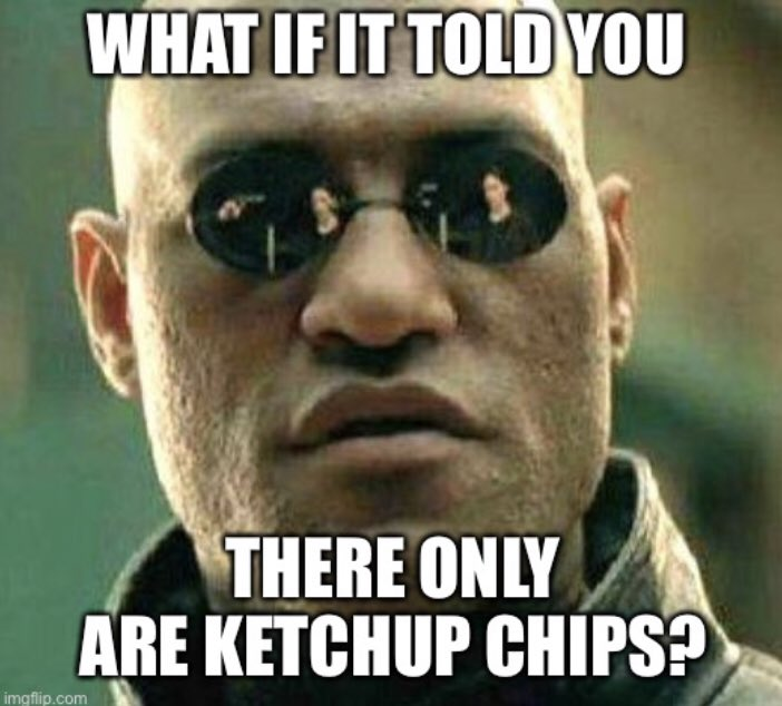 'Cause @amandabittner and @loleen_berdahl have been talking about ketchup chips like it's the new  red pill I decided I needed to do something about it https://t.co/kstiaTM3mq