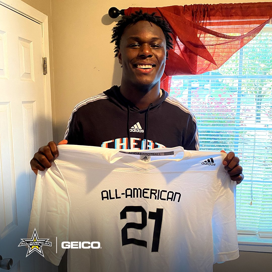 Bama Boy 🐘   Welcome Alabama commit Deontae Lawson (@deontae_8) to the 2021 All-American Bowl @NBCSports   #AAB21 🇺🇸  #RollTide   #AllAmericanBowl 🏈 @GEICO   https://t.co/xgfwYrkFh1 https://t.co/my6wEgzBEh