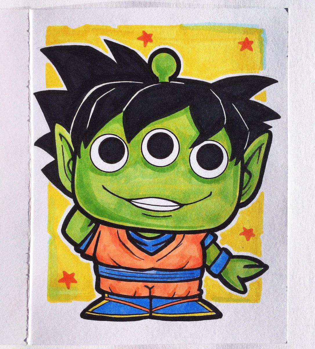 Disney Pixar Alien Remix - Alien as Goku  #alienremix #funkoalienremix #dragonball #goku #funkoconcepts #alienremixconcept #funkopixar #toystory https://t.co/gQCK7yf9Wn