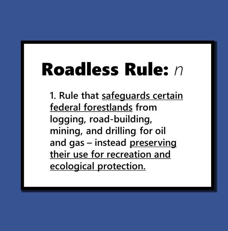 #Democrats will protect these precious places and preserve America's unspoiled wildernesses for hunting, fishing, hiking, and camping by codifying the roadless rule,and grow America's outdoor recreation economy, which supports millions of jobs in rural areas. 15/22  #roadlessrule