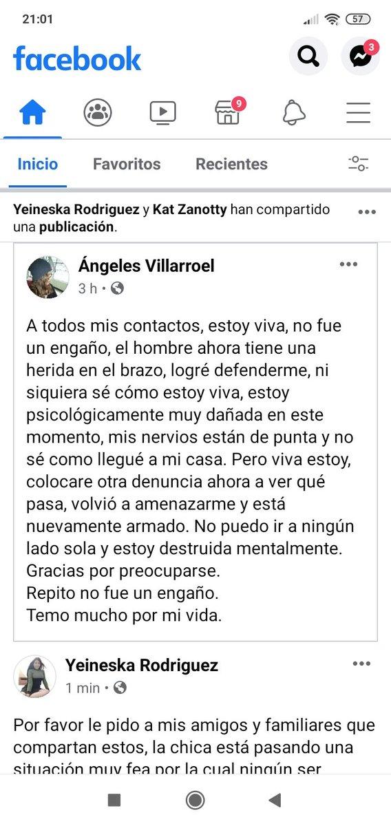 Por favor compartan esta información y ayudemos a Ángeles a salir de la pesadilla que está viviendo #Caracas #noticiasvenezuela #Venezuela #NiUnaMenos https://t.co/g1qProsBN4